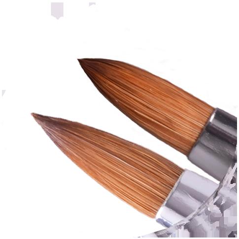 Black Beauty Twin Acryl Pinsel