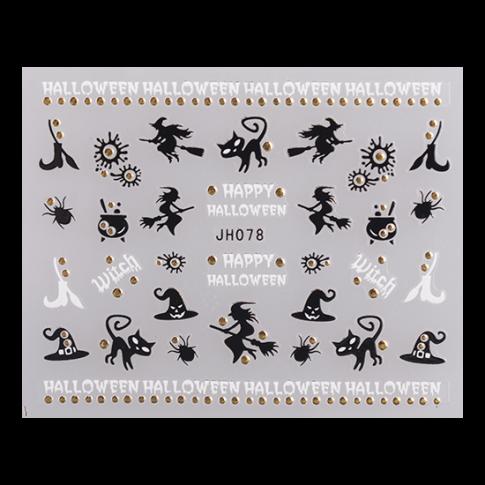 NAIL STICKER JH078 Silber