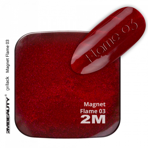 Gel Lack Magnet Flame 03