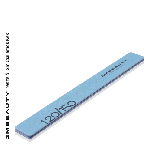 Feile mit Glitzer Blau (120/150)