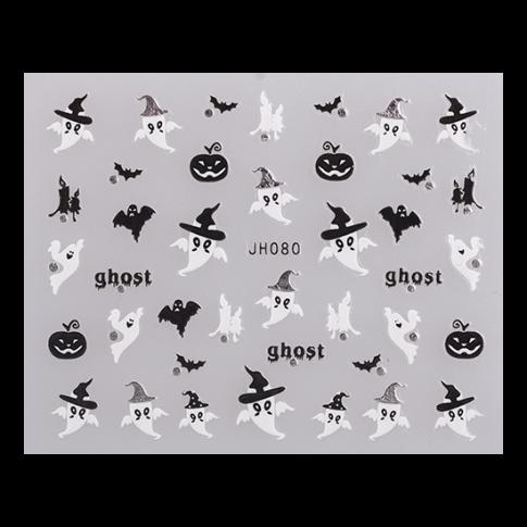 Nail Sticker JH080 Silber