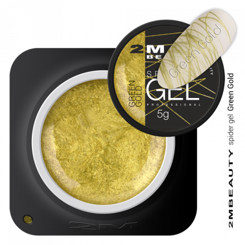 Spider Gel Green Gold