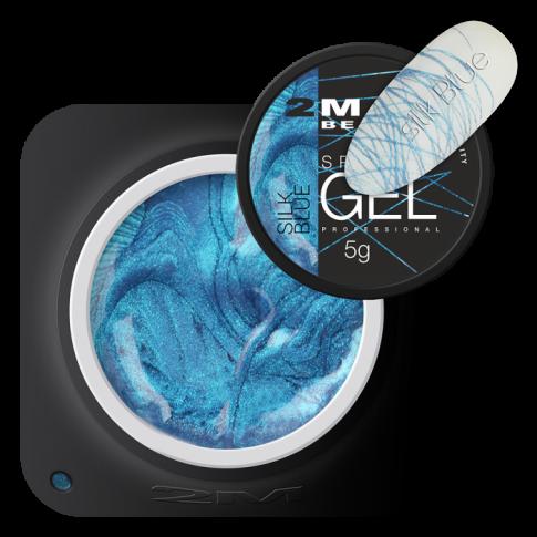 Spider Gel Silk Blue