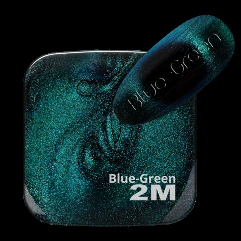 GEL LACK MAGNET 9D SUPER EFFECT BLUE-GREEN