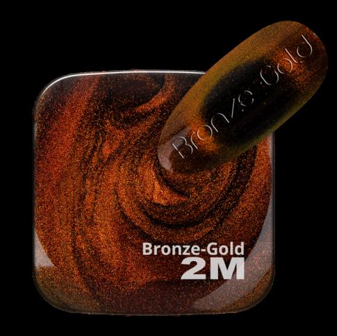 GEL LACK MAGNET 9D SUPER EFFECT BRONZE-GOLD
