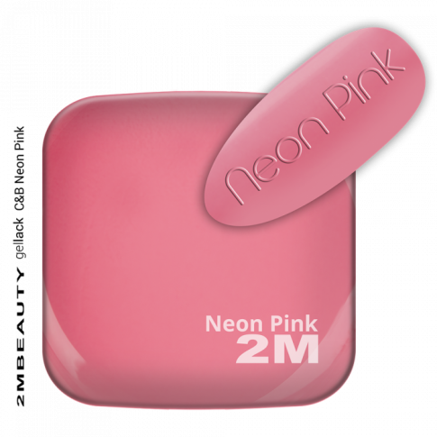 Gel Lack Color and Base in One -Neon Pink