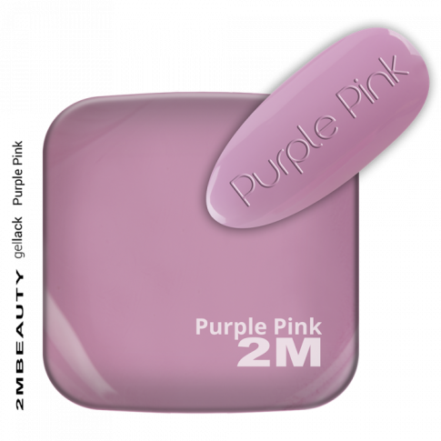 Gel Lack Color and Base in One -Purple Pink