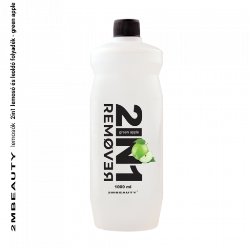2 in 1 Nail Polish Remover Green Apple